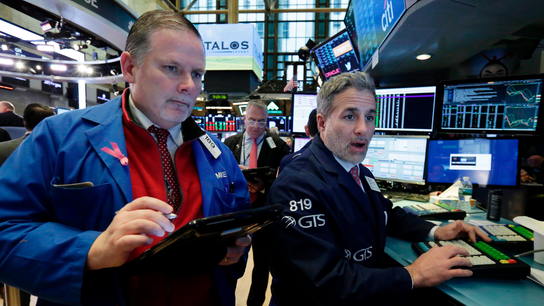 Markets Right Now: Early rally mostly fades on Wall Street