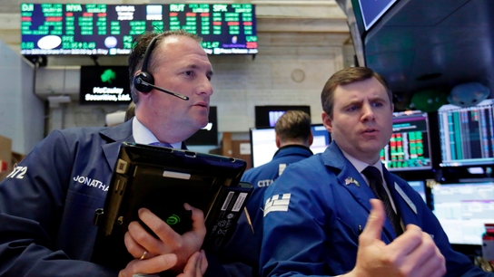 Markets Right Now: Stocks surge as China trade tensions ease
