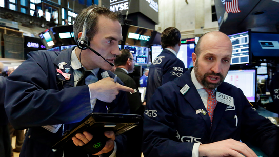 Markets Right Now: First loss this week for US stocks