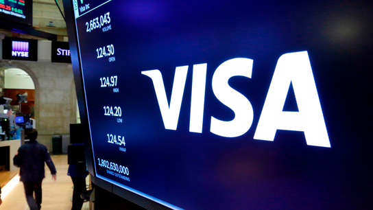 Visa profits jump, helped by more spending on its network