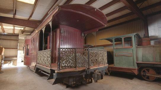 Astrodome train car a rolling luxury box