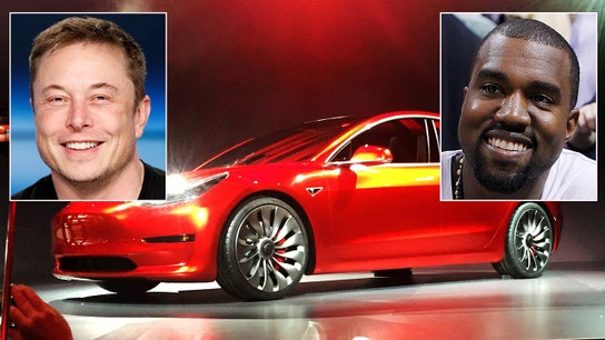 Kanye thanks Musk for his Tesla, 'funnest' car he's driven