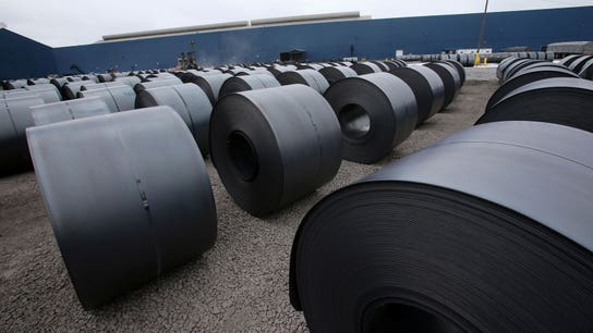 US steel prices up 'dramatically' due to Trump tariffs: Fed