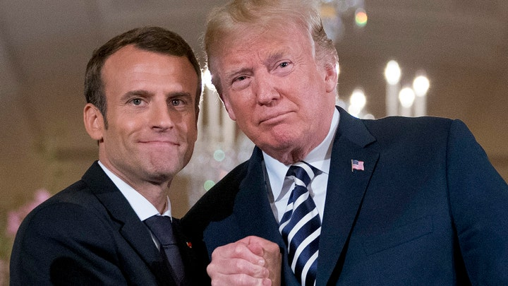 France's Macron says he, Trump had 'great discussion' on digital tax