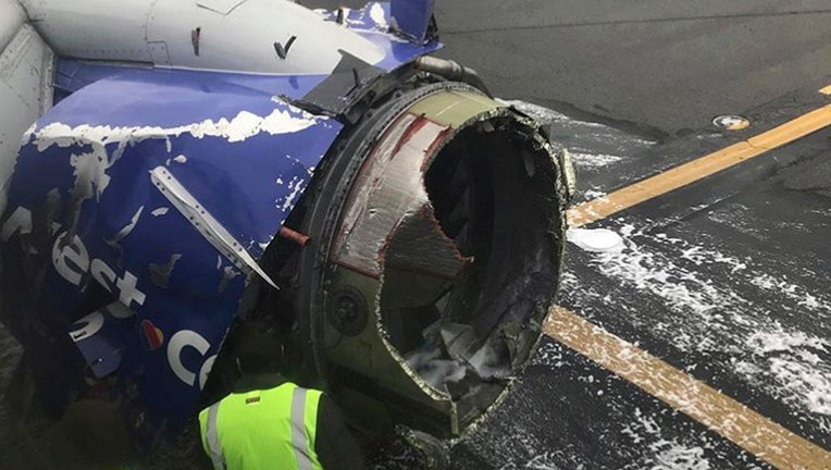 Southwest Airlines Flight Makes Emergency Landing In Philadelphia