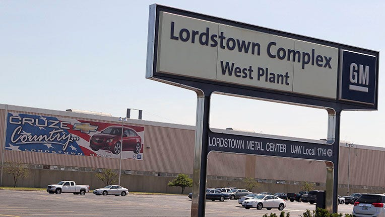 Friday. 3:20 pm: GM Lordstown cuts second shift