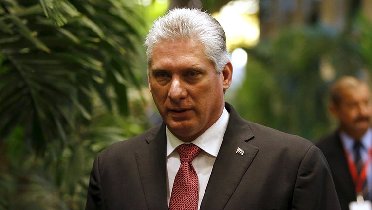 Miguel Diaz-Canel officially named Cuba's new president