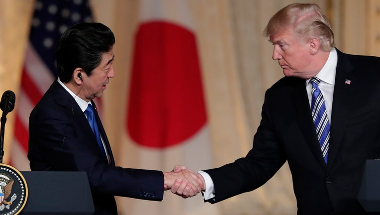 Abe, Trump agree to start new bilateral tariff talks