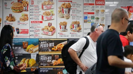 Menu calorie counts lead to smaller fast-food orders