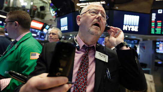 US stock indexes veer lower ahead of trade talks with China
