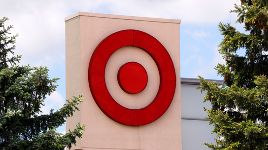 Target's bright spot: robust customer traffic