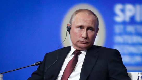 Putin: We're held hostage to political strife around Trump
