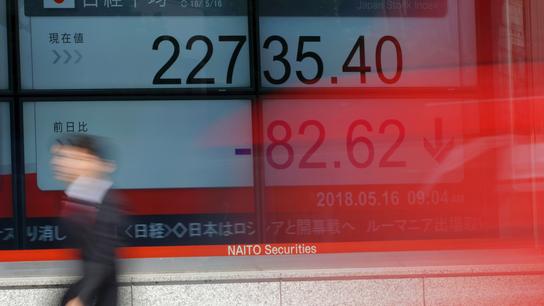 Global stocks subdued amid North Korea summit uncertainty