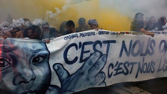 Thousands across France protest Macron's 'brutal' policies