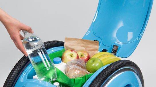 Meet Gita: A rolling robot that carries your groceries