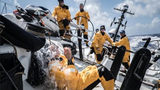 Volvo Ocean Race sailboats reach US, MAPFRE wins latest leg