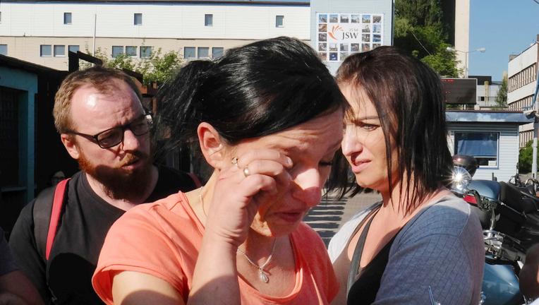 2 found dead in quake-hit Polish coal mine; 3 still missing