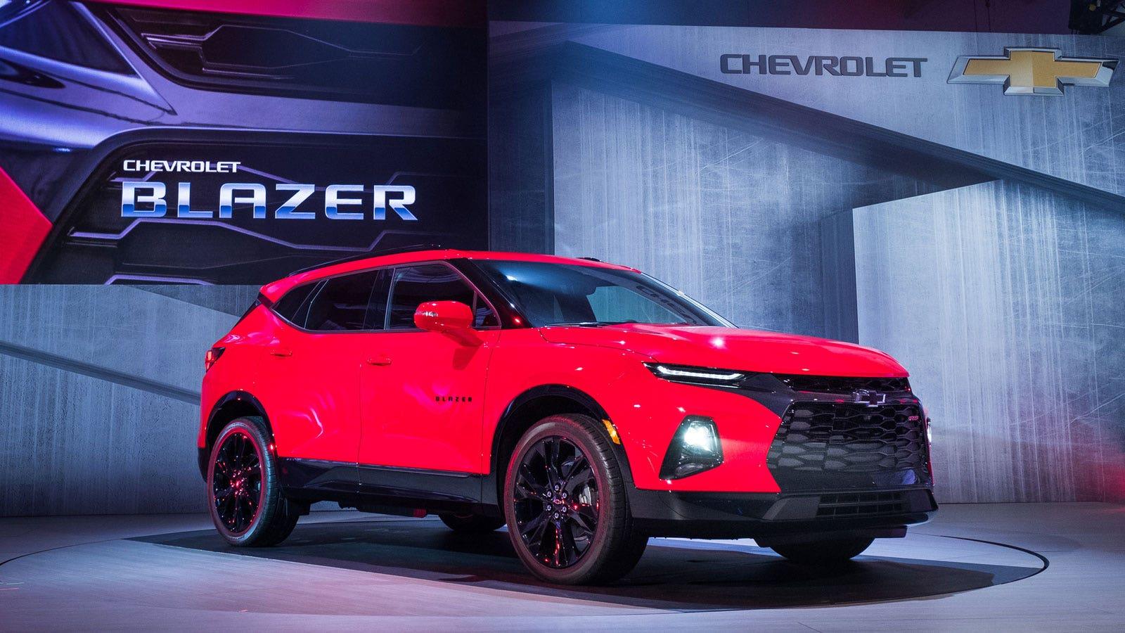 Chevy Unveils New Suv The Blazer Fox Business