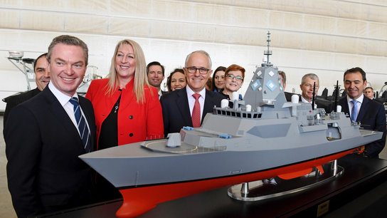 Australia awards UK's BAE $26 billion navy frigate contract