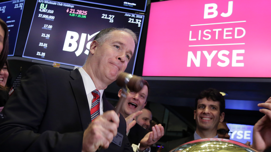 BJ's Wholesale Club shares soar on 1st trading day