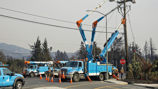 PG&E suspends dividends amid possible wild fire liability