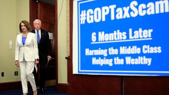 Democrats slam Trump tax cuts despite US economic strength
