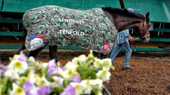 Belmont Stakes: Tenfold racing for injured veterans