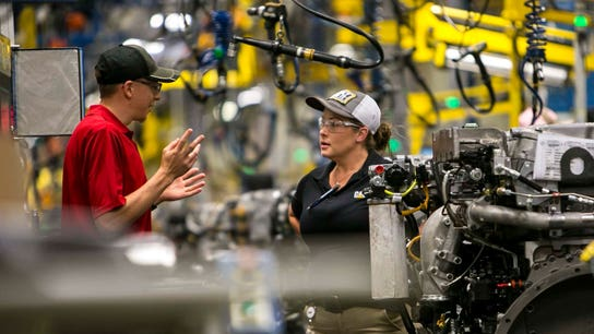 US manufacturers report record-high optimism after tax reform