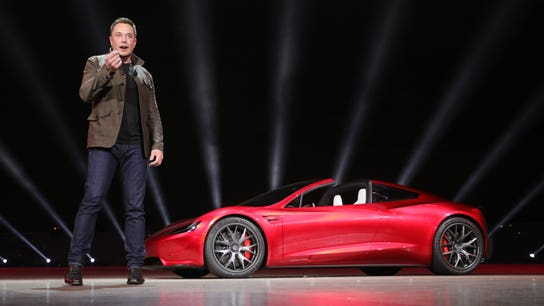 Tesla Roadster to offer 'crazy' SpaceX option package, Elon Musk says