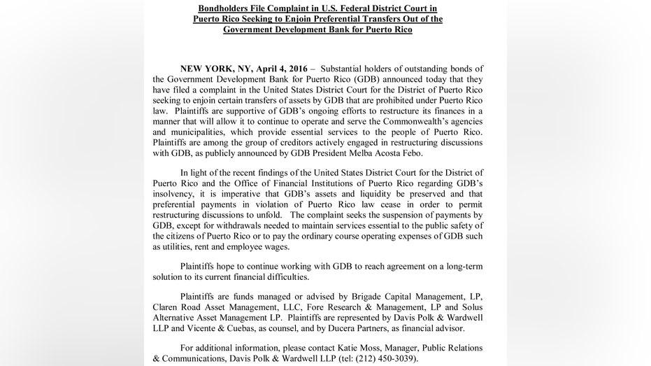 Americas Active Complaint Press Release FBN