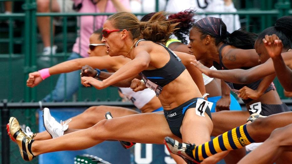 Lolo Jones Hurdles, track and field