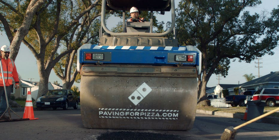 Domino's Pizza has launched a campaign to repair potholes in towns across the country