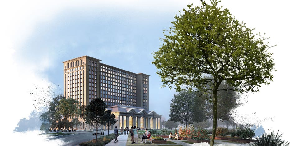Ford to turn abandoned Detroit train station into technology