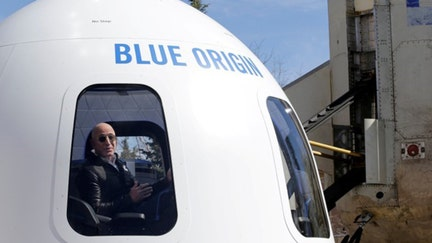 Jeff Bezos' Blue Origin rocket launches thousands of student letters into space
