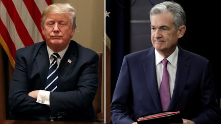 Trump meets with Fed's Powell at White House