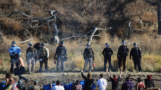 North Dakota seeks federal money for pipeline protest costs