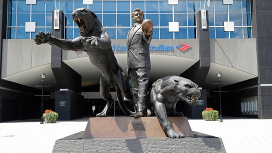 Panthers 'obligated' to keep Jerry Richardson statue, new owner David Tepper says