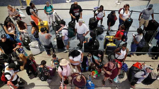 Democrats to blame for long security lines at airports: Varney