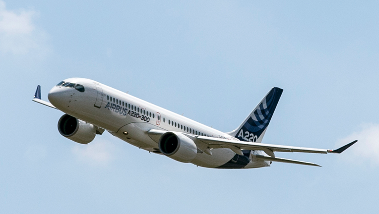 Airbus Unveils A220 Plane Rebranded Bombardier Model Fox Business