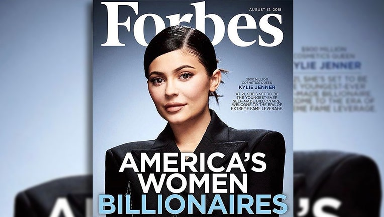 Kylie Jenner named in Forbes list of self-made rich women