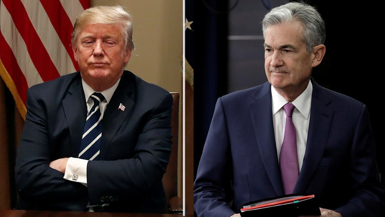 Trump slams the Federal Reserve for raising interest rates