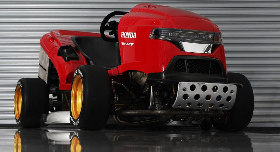 This Honda Lawn Mower Will Go 150 Mph Fox Business