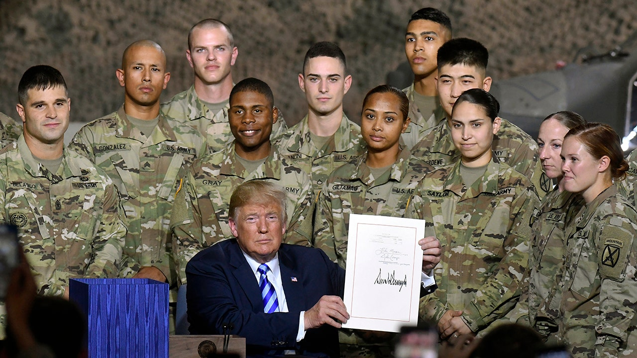 Trump: Troops to see 'biggest pay increase' in a decade