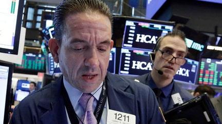 Stocks rising ahead of bank earnings