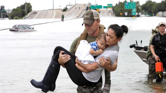 The Latest: Houston area backs $2.5B flood-control bond