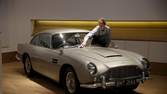 Maker of James Bond's favorite sports car eyes stock market