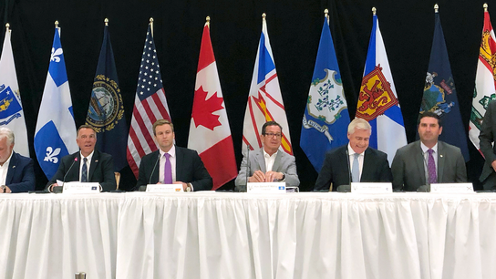 Northeast governors, eastern Canada premiers meet in Vermont