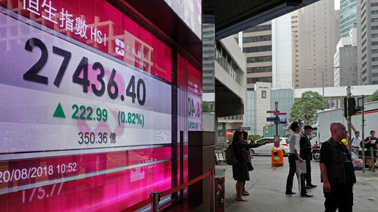 Stocks mostly rise on hope for progress on China trade talks