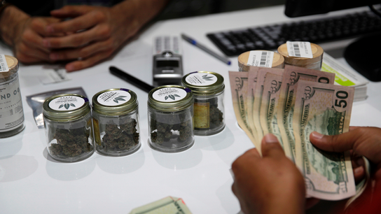 Nevada's 1st year of pot sales beats forecast by 40 percent