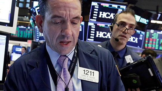 Stocks lower on trade worries, interest rate concerns